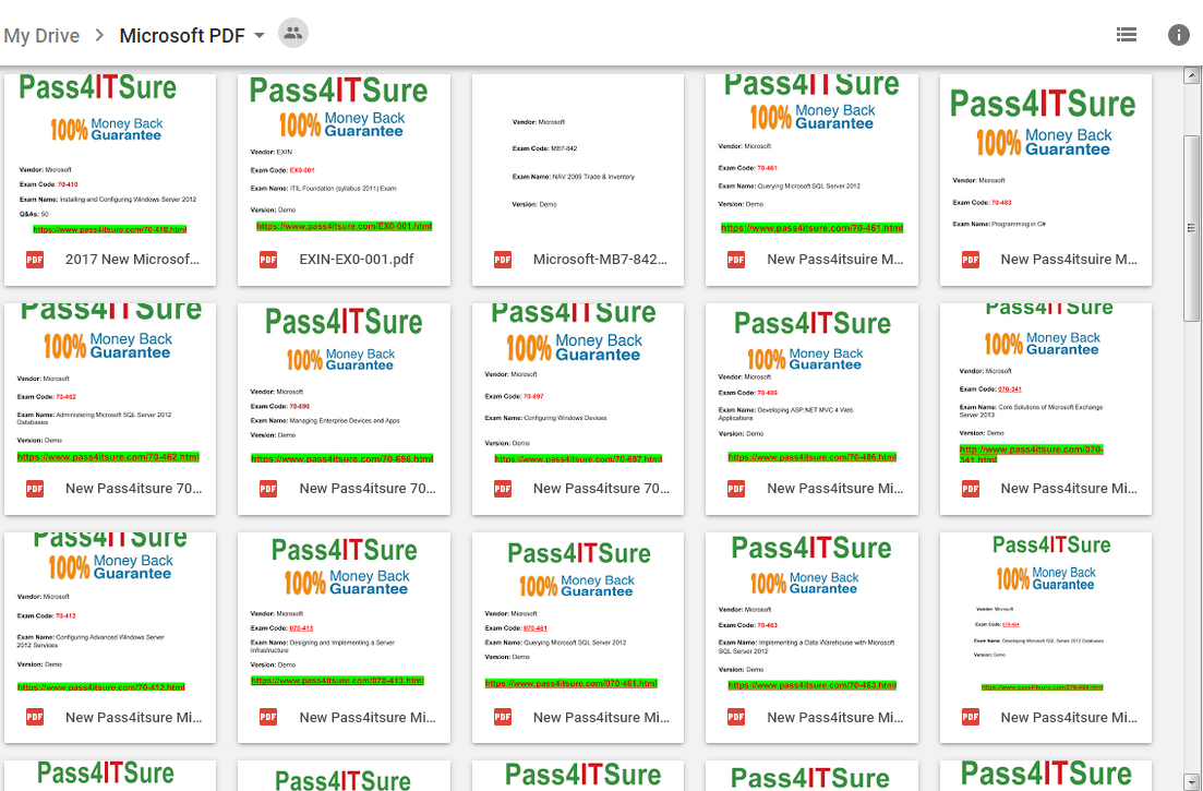 pass4itsure mircrosoft drive