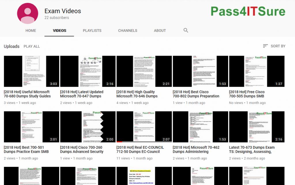 pass4itsure-youtube