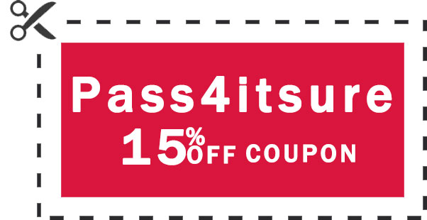 Pass4itsure 15% coupon 2020